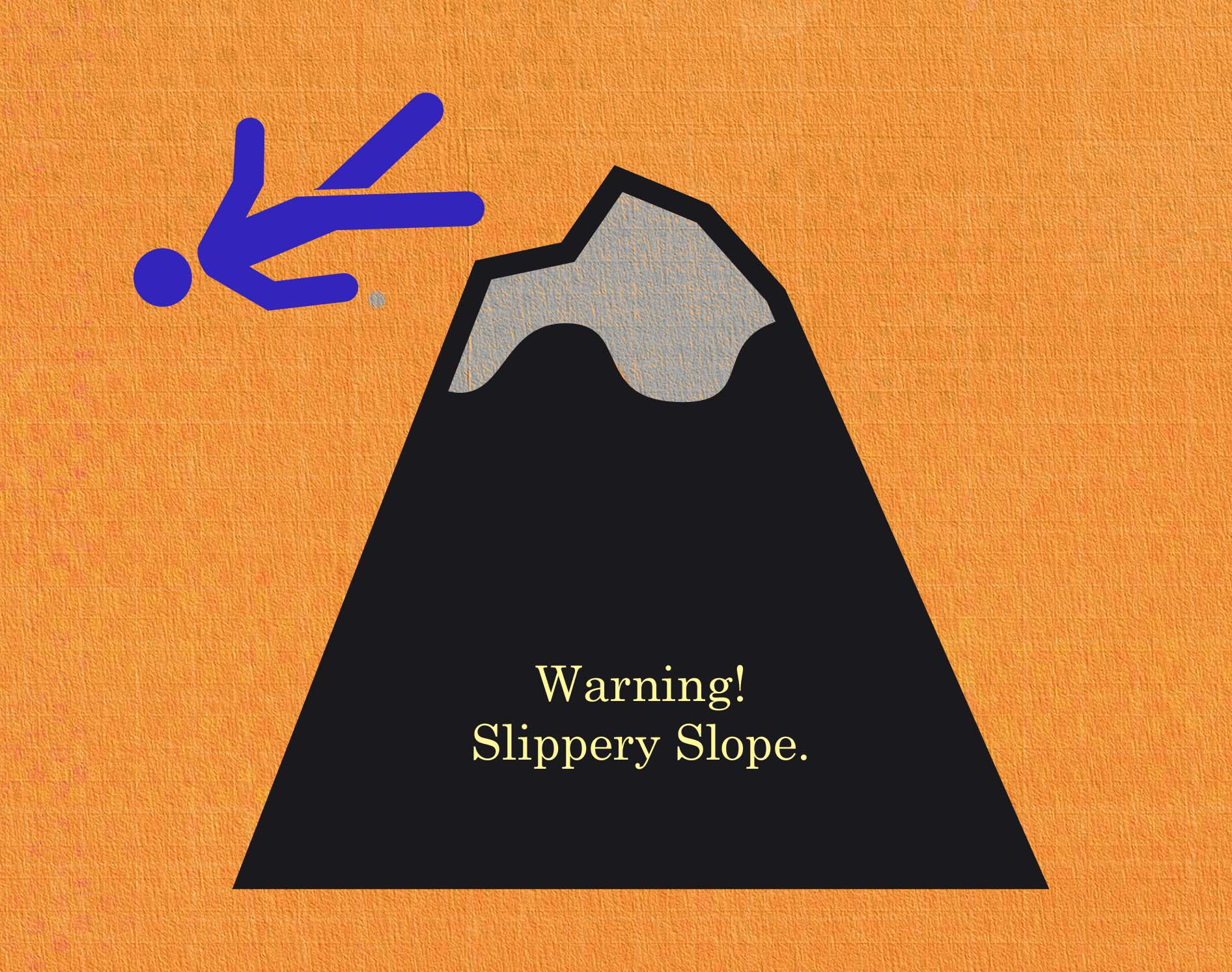The Slippery Slope, a Series of Unfortunate Events Book the 10th