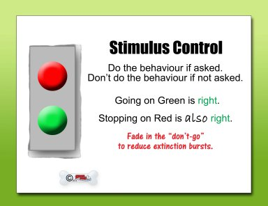 Stimulus Control red light green light